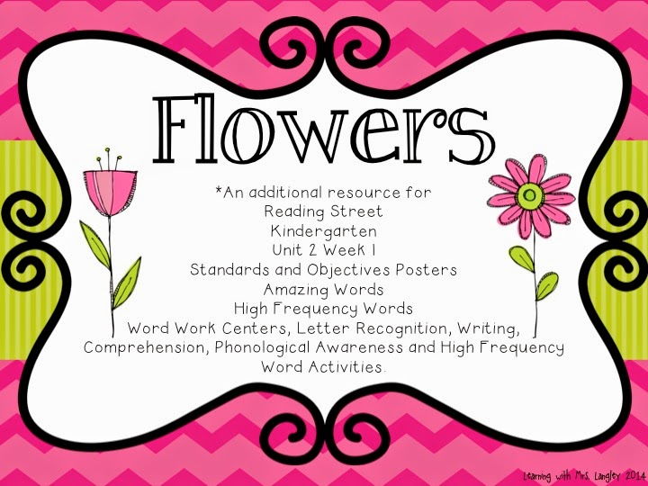 http://www.teacherspayteachers.com/Product/Flowers-Kindergarten-Unit-2-Week-1-1319371