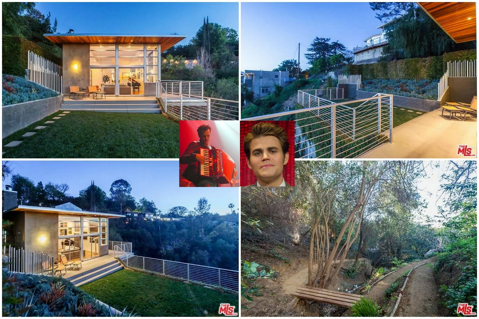 Celeb r e paul wesley of the vampire diaries nabs for Wesley house