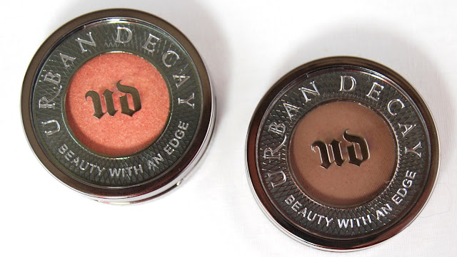 Urban Decay Eyeshadow New Formula in Freelove and Buck