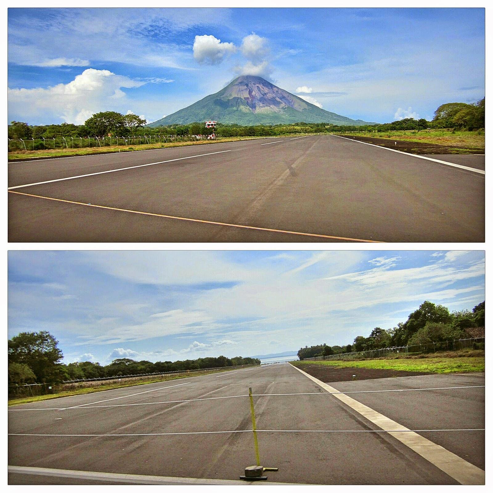 Pista aérea de Ometepe