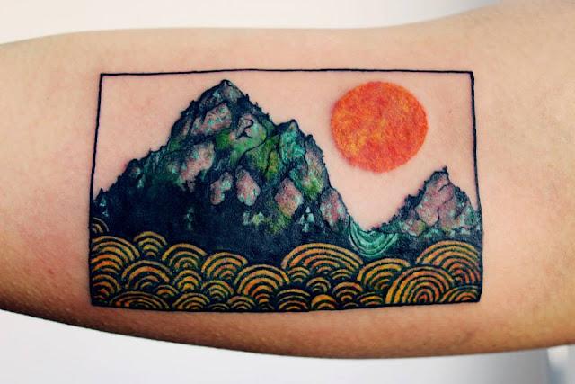 Tatuagem de Paisagem - Tattoos