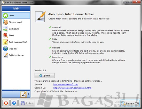 Aleo Flash Intro Banner Maker 3.8 Full Patch 2