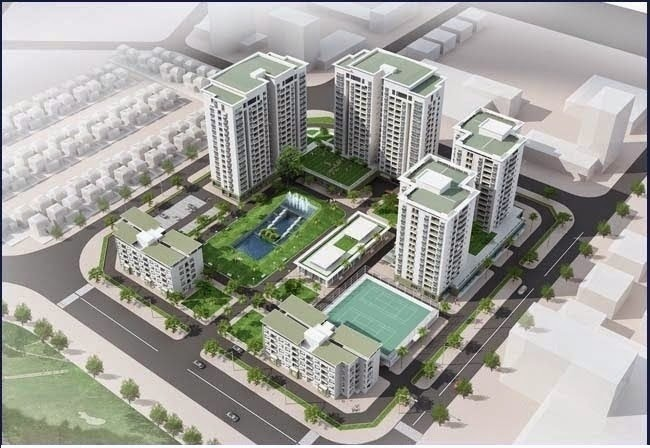 tổng quan dự án Chung cư Green House
