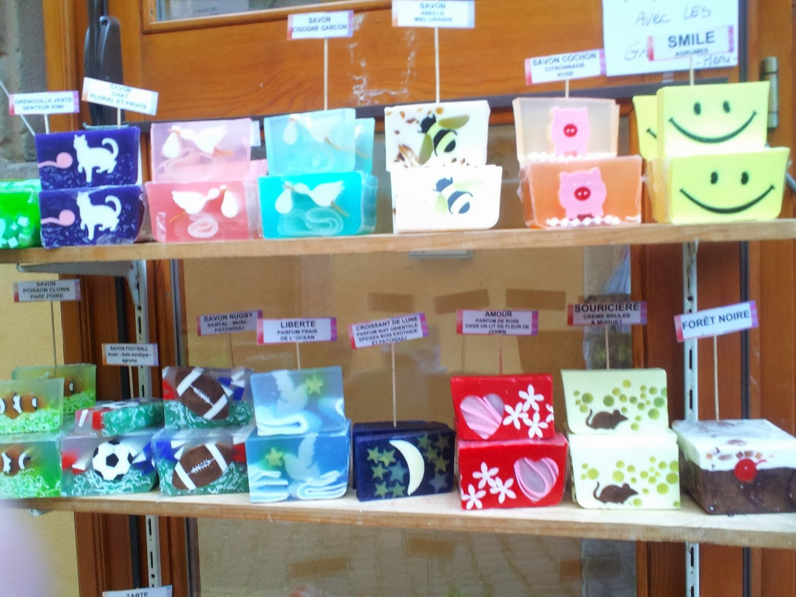 Soaps to Make you smile Swiss style
