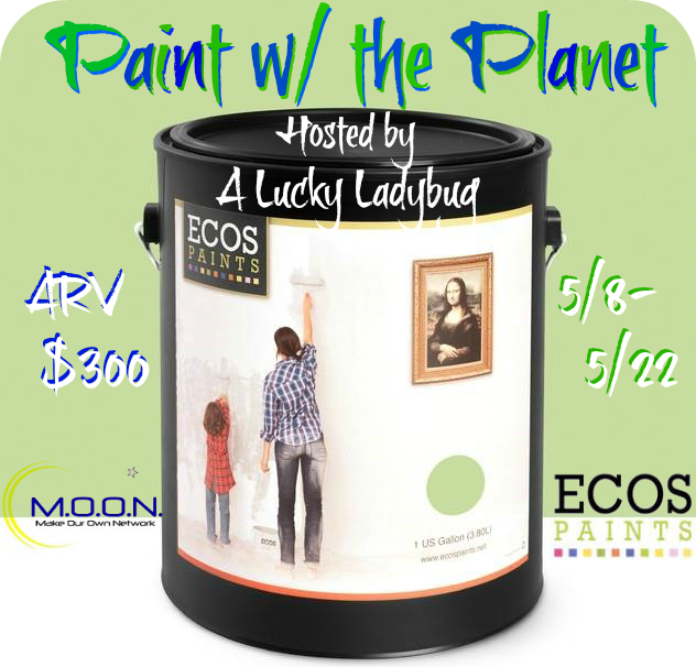 Enter the Paint w/ the Planet Giveaway. Ends 5/22