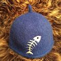 Blå fisk - medium