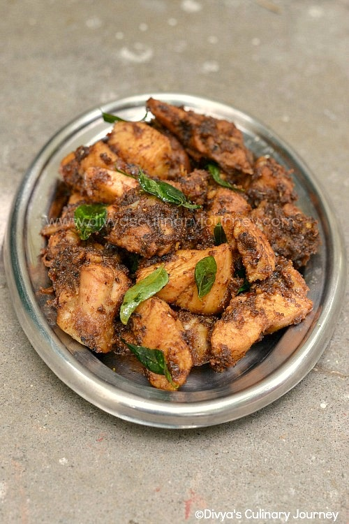 chicken varuval recipes