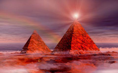 Construyen una enorme pirámide extraterrestre en el Area 51