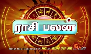 Rasi Palan Today 09-09-2016 | Horoscope Sun TV
