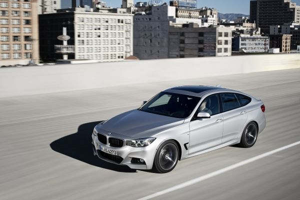 The new BMW 3 Series Gran Turismo – M Sport Package.