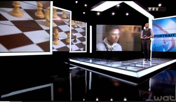 Harry Roselmack présente le fabuleux destin de Fahim Mohammad © TF1