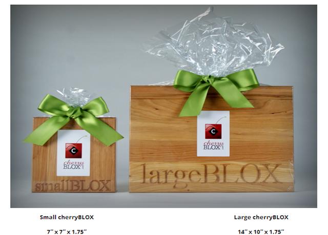 Custom-Engraved cherryBLOX Cutting Boards   cherryBLOX.com