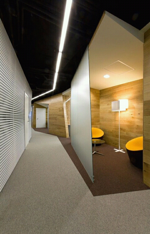 Modern corridors designs ideas new home designs - Architecturen volumes ...