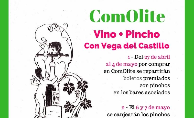 Hasta el día 4, reparto boletos Vino + Pincho