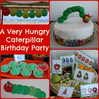 First birthday Hungry Caterpillar party