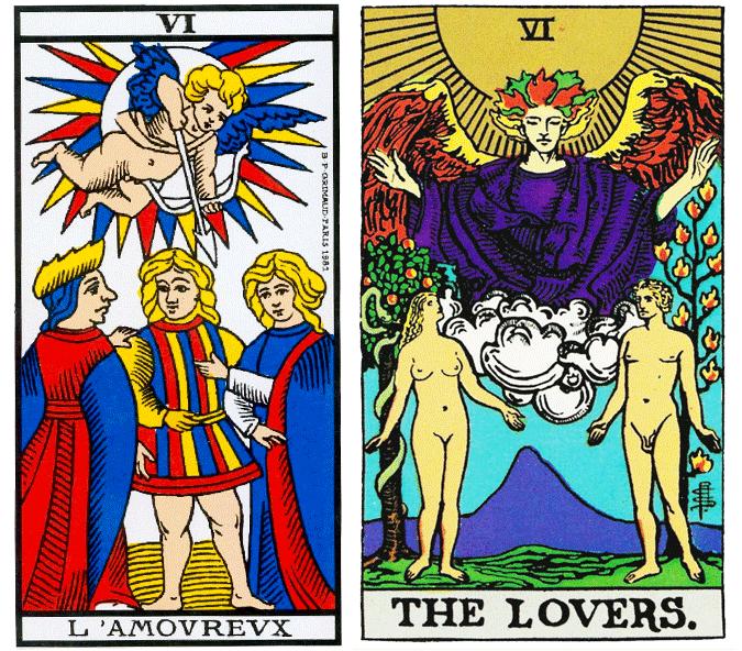 Arcano VI, Os Enamorados - Como ler tarot