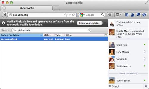 How to Enable Facebook Notifications and Chat in Firefox Toolbar