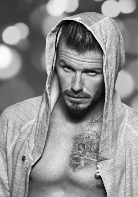 David Beckham by Alasdair McLellan for Bodywear X H&M Holiday Campaign