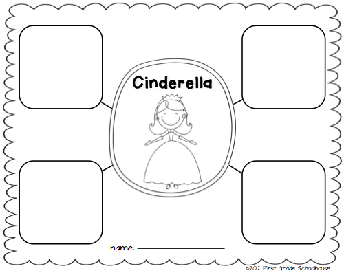 First Grade Schoolhouse Cinderella and the Common Core Standards – Cinderella Worksheets