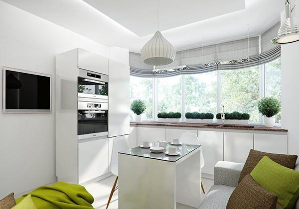 tips penggunaan warna di ruang makan rancangan desain