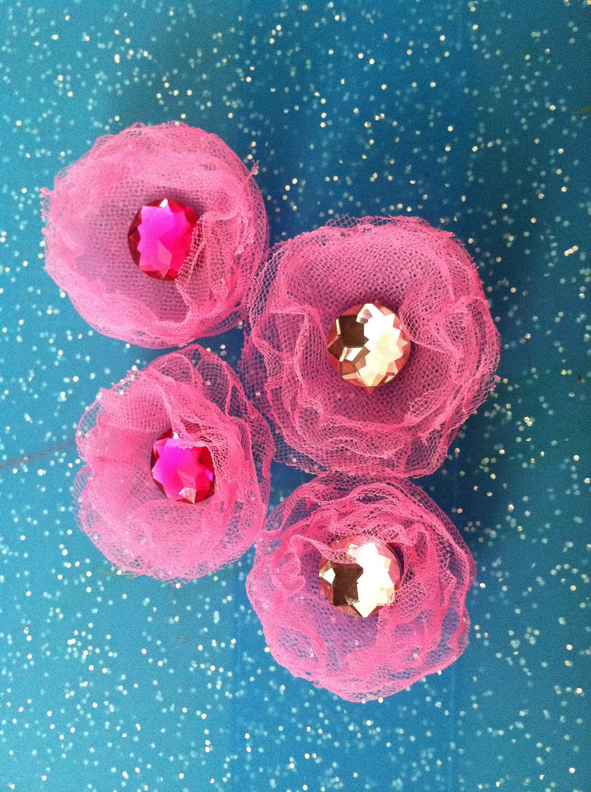 Tulle Flower Tutorial Shoeper Mom