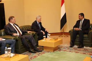 هذا ماقاله (بحاح) لسفيري روسيا لدى اليمن و السعودية