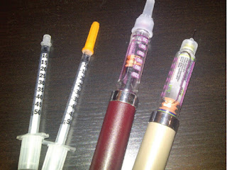 Type 1 Diabetes - Insulin needles and pens