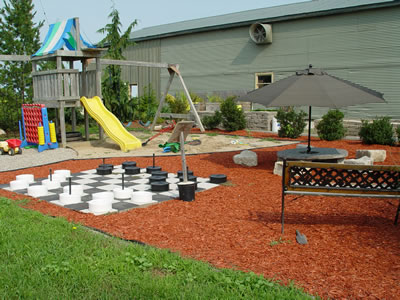 Backyard Playground Ideas Roselawnlutheran - Backyard play area ideas