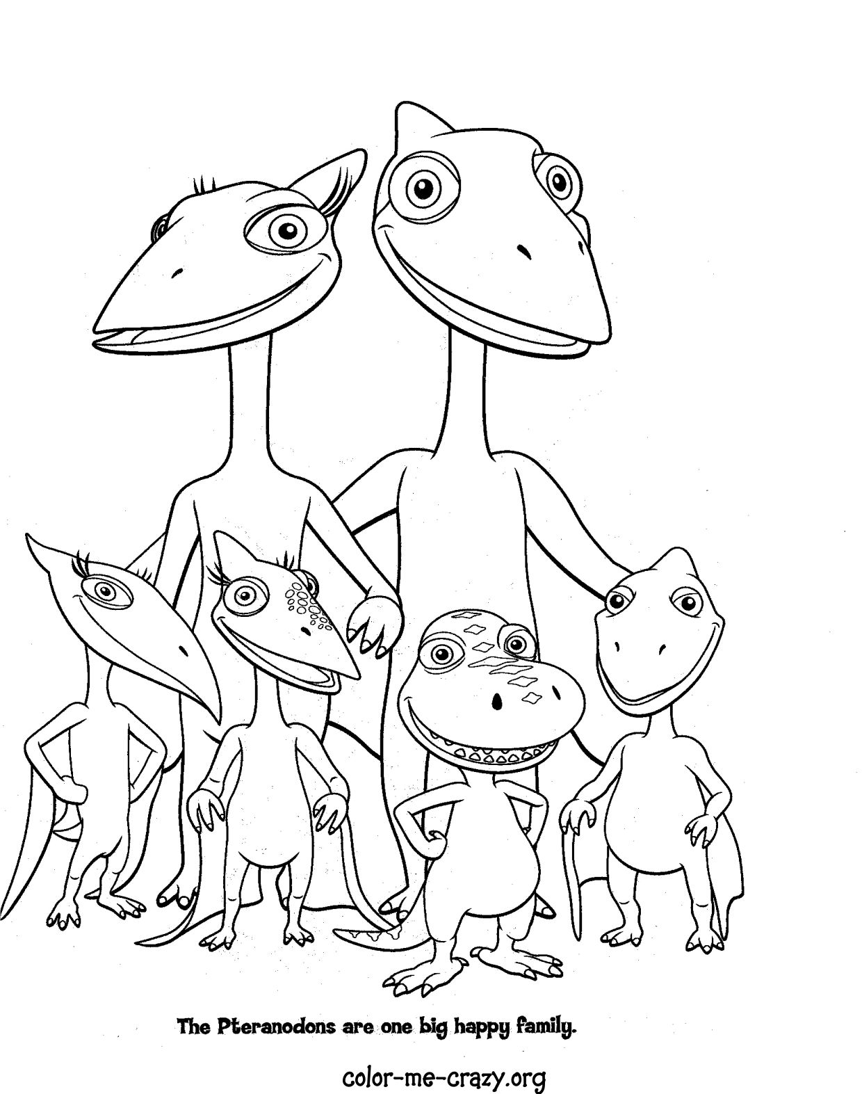 dinosaur train coloring pages dongs - photo#35