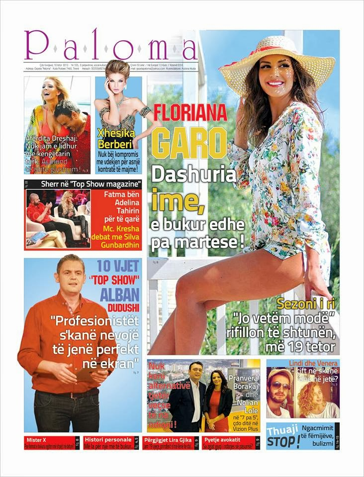 Revista PALOMA - 12 Tetor 2013