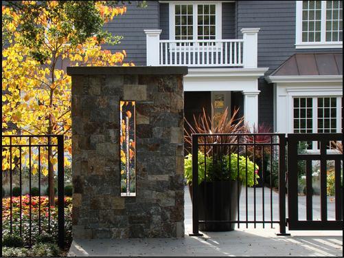 Fachadas casas modernas piedras para fachadas for Casas modernas revestidas en piedra