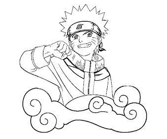 #13 Naruto Coloring Page