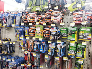 In Store Headlamp Display