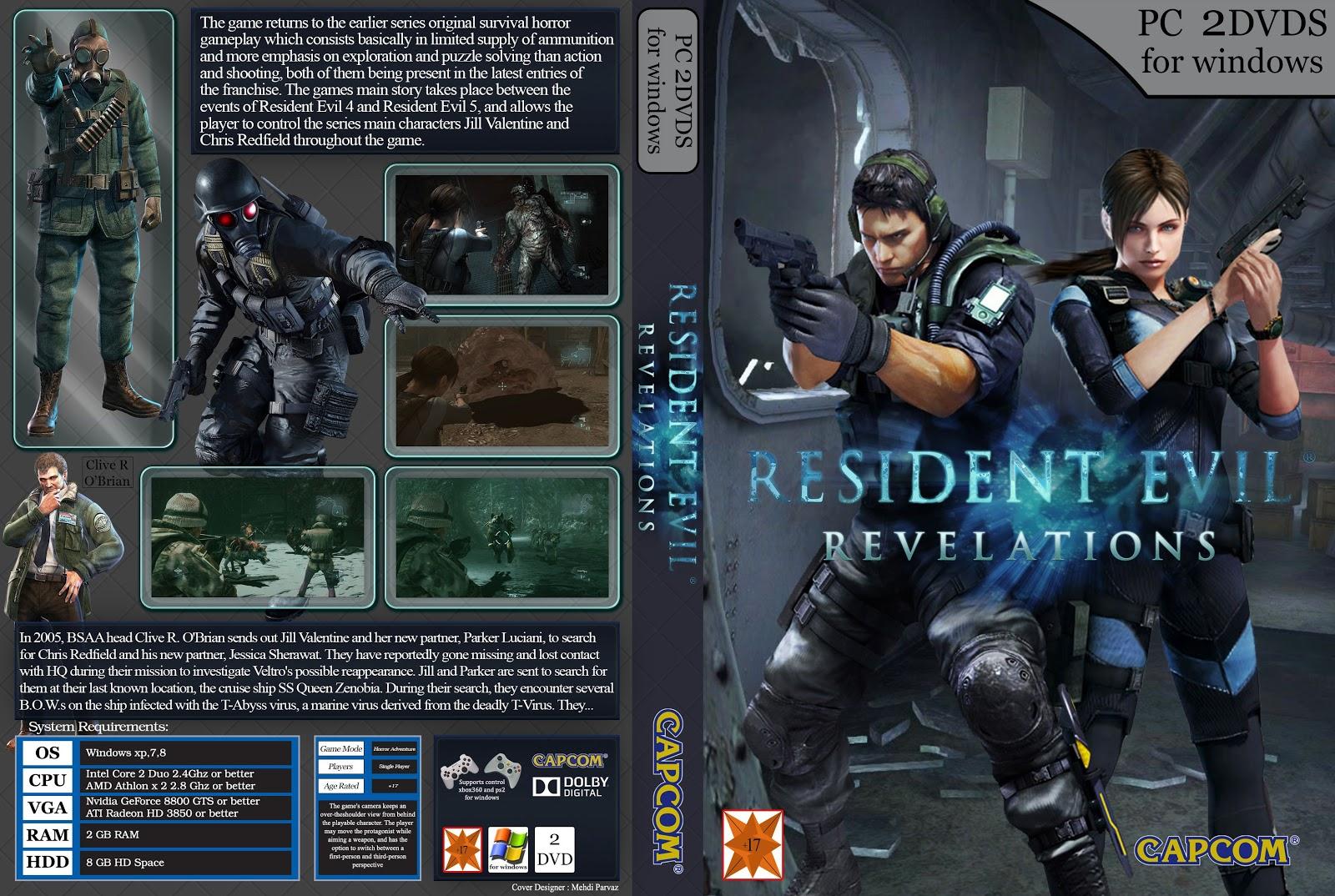 Capa Resident Evil Revelations PC
