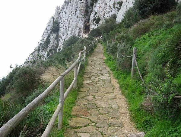 Peñon de Ifach Inicio vías escalada