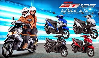 4 Warna Baru Motor Matic Yamaha GT125 Eagle Eye 2015