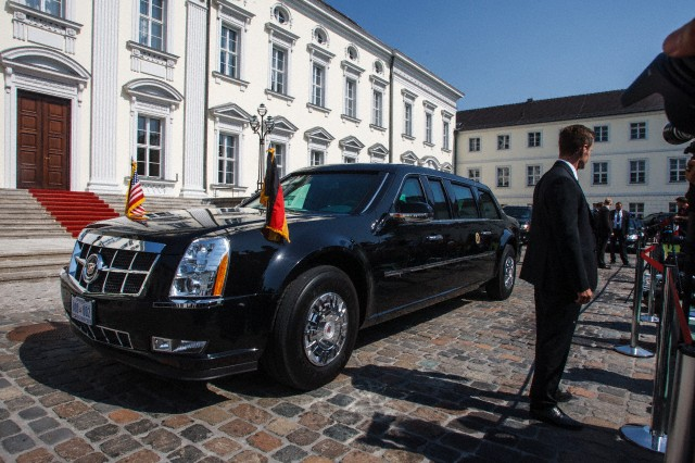 The World Of Cars Obama S Car In Berlin Germany