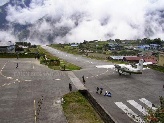 Tenzing-Hillary Airport, Nepal