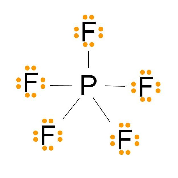 The science of studying lewis dot structure for pf5 lewis structure for phosphorus pentafluoride ccuart Gallery
