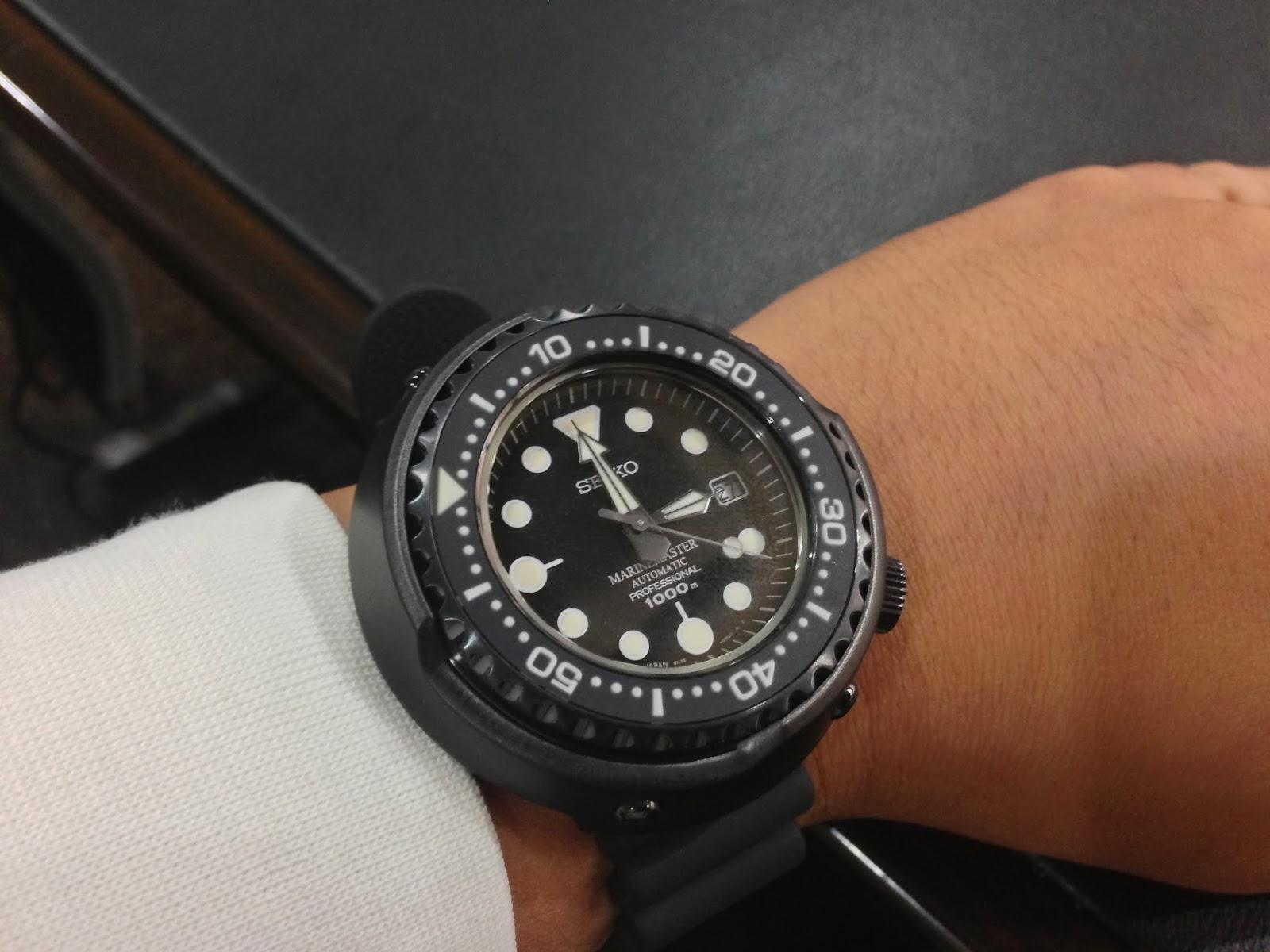 My eastern watch collection seiko marine master - Best seiko dive watch ...