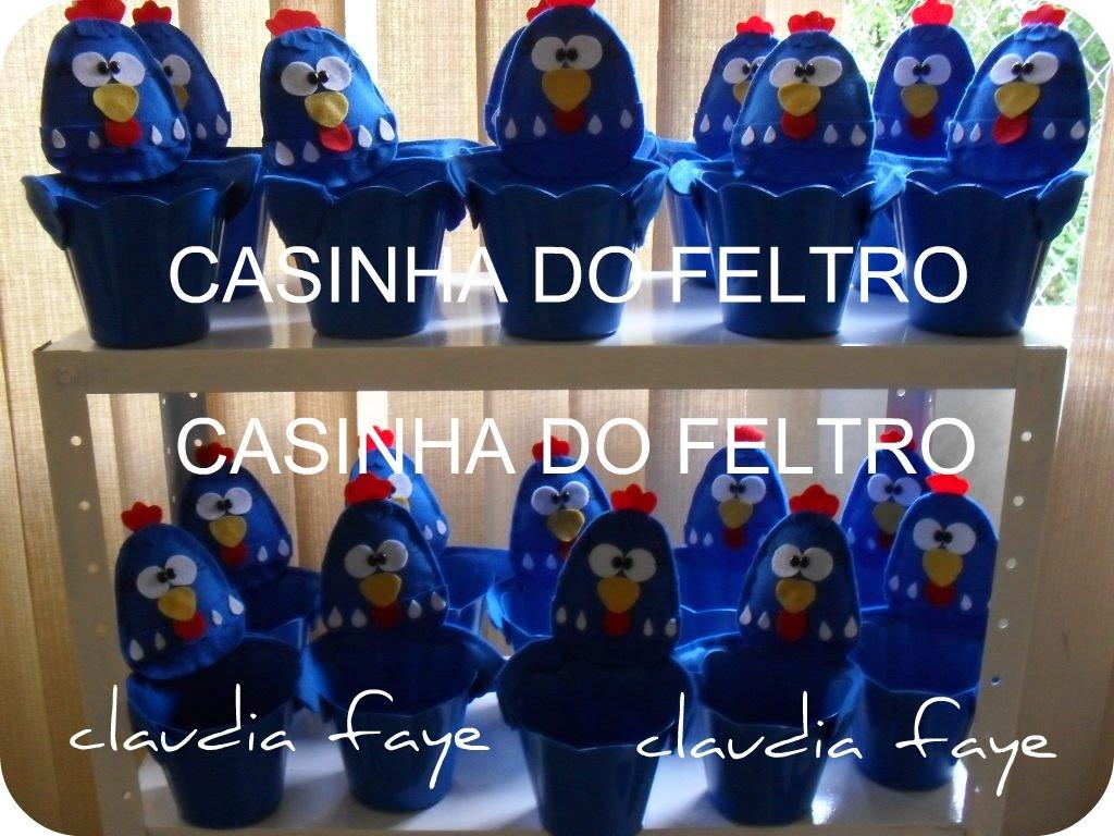 CACHEPO GALINHA PINTADINHA