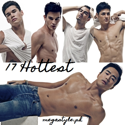 17 Hottest Male Model in the Philippines: Brent Javier (bottom)