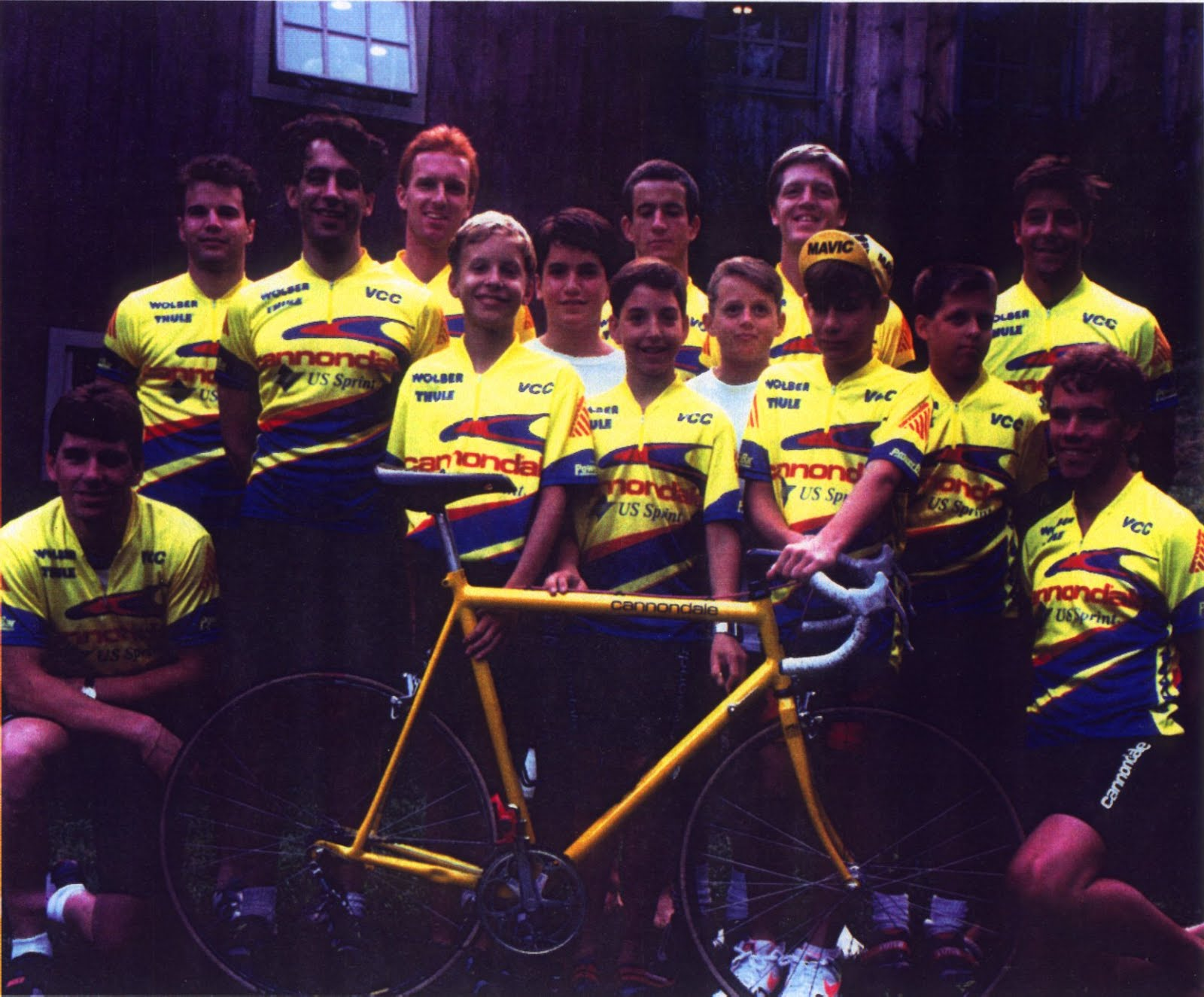 The Cannondale Corporation Cycling Club, 1990-1991-1992-1993