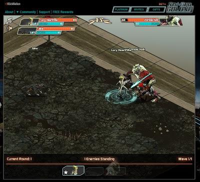 Six Gun Galaxy - Combat 2