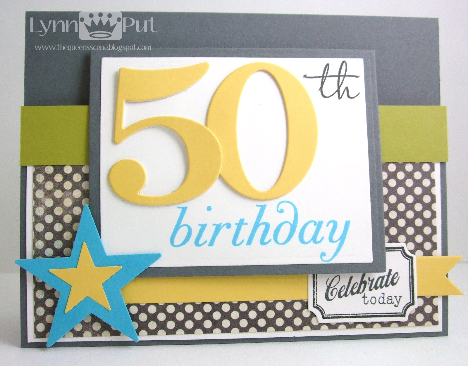 The queen 39 s scene ctd190 50th birthday - Color for th birthday ...