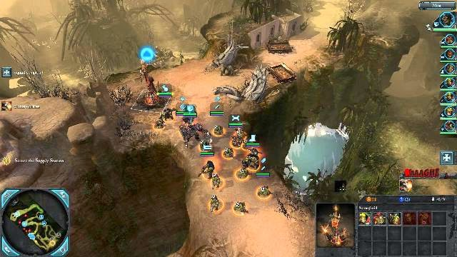 Playing Warhammer 40,000 Dawn of War PC Games