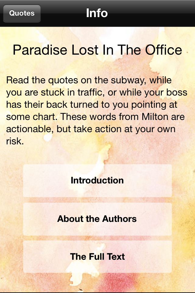 Any ideas for a Paradise Lost, by Milton essay?