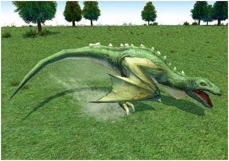Mabinogi Fraire Dragon