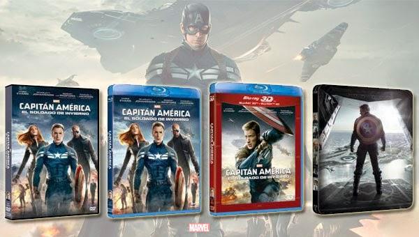 Formatos domésticos Capitán América: El Soldado de Invierno