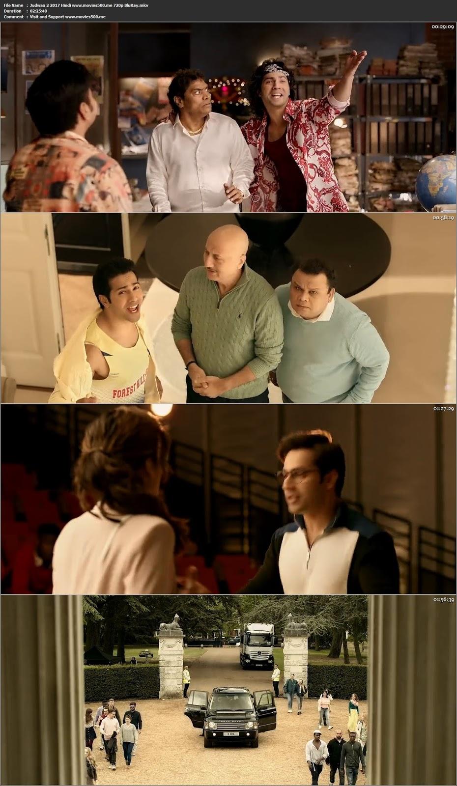 Judwaa 2 2017 Hindi Full Movie BluRay 720p 1GB at chukysogiare.org